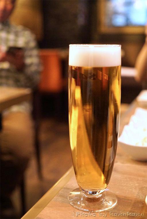 金肉(kin-niku)の生ビール