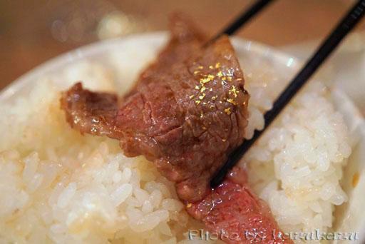 東京六本木に構える金肉(kin-niku)の焼肉ライス