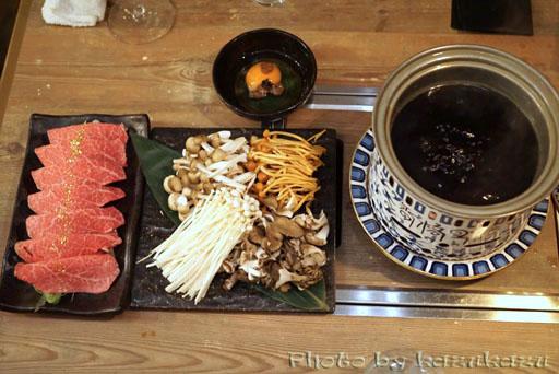 東京六本木に構える金肉(kin-niku)の金肉名物!ブリしゃぶ
