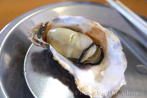 宮城県松島の旬味かきの里の焼き牡蠣