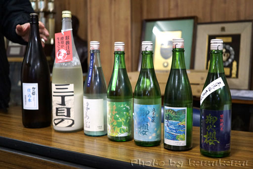 岐阜県美濃加茂市太田本町の御代桜醸造の日本酒