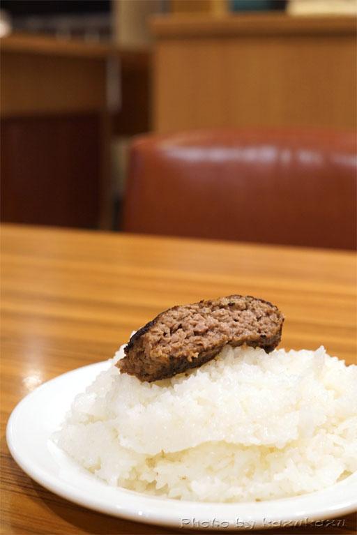 お台場のHamburg&Steak HIROのハンバーグオンザライス