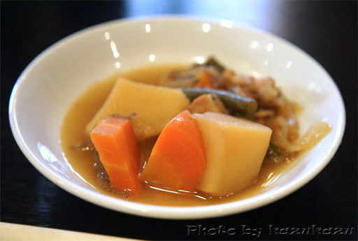 岐阜県美濃加茂市のホテルルートイン美濃加茂の肉じゃが
