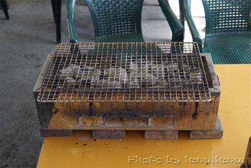 宮城県松島の旬味かきの里の炭火焼ロースター
