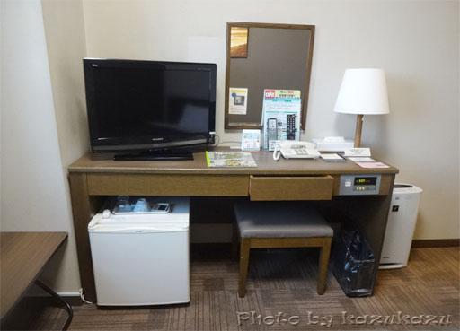 岐阜県美濃加茂市のホテルルートイン美濃加茂の客室