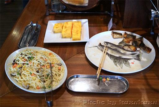 岐阜県美濃加茂市のホテルルートイン美濃加茂の朝食バイキング