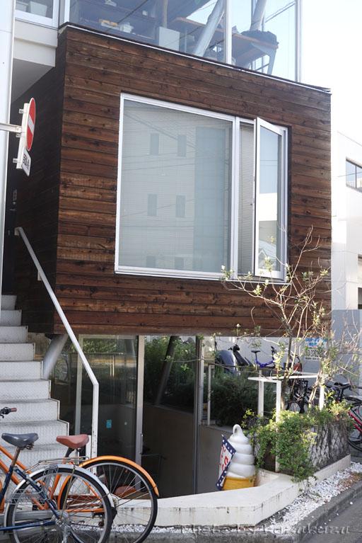 東京都世田谷区駒沢のアヂト外観