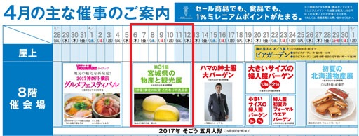 そごう横浜店 第31回 宮城県の物産と観光展