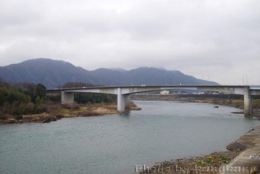岐阜県美濃加茂市美濃加茂ツアーの中山道太田宿の木曽川